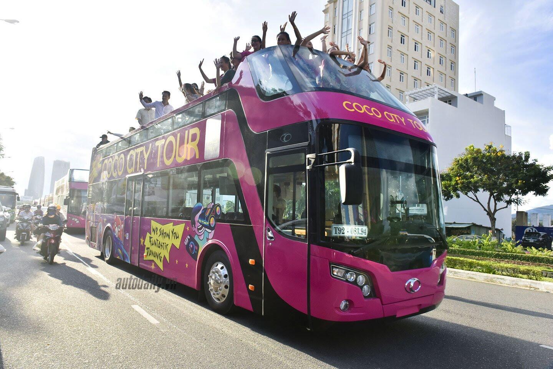 """Vào Đà Nẵng, """"cưỡi"""" xe bus 2 tầng giá 6 tỷ của Thaco - Hình 10"""