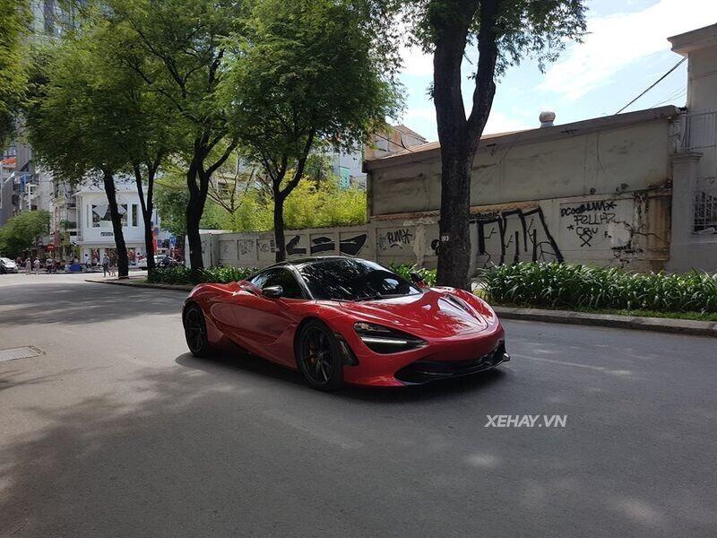 Vào Sài Gòn không lâu, McLaren 720S đã kịp kết giao nhiều - Hình 11