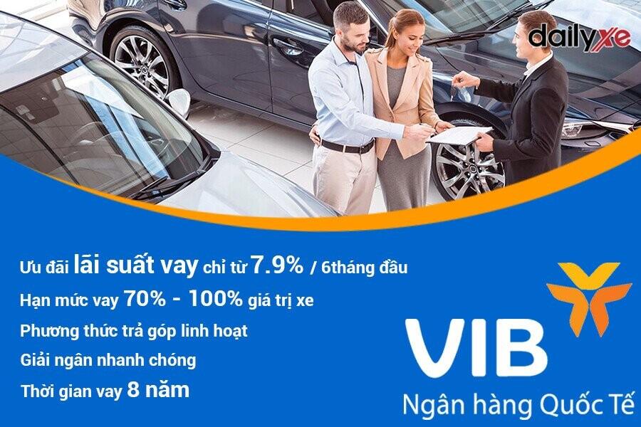Ưu điểm khi vay mua xe ô tô trả góp tại VIB