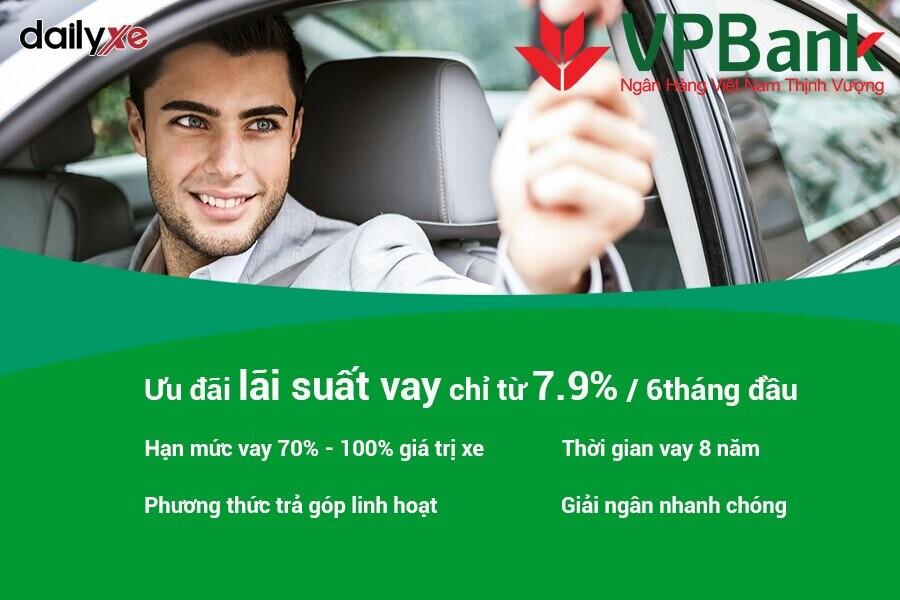 Lợi ích khi vay mua xe ô tô trả góp tại VPBank