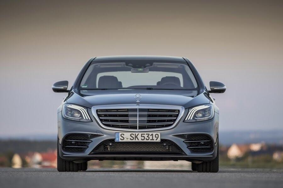 Vẻ đẹp Mercedes S-Class 2018 - Hình 2