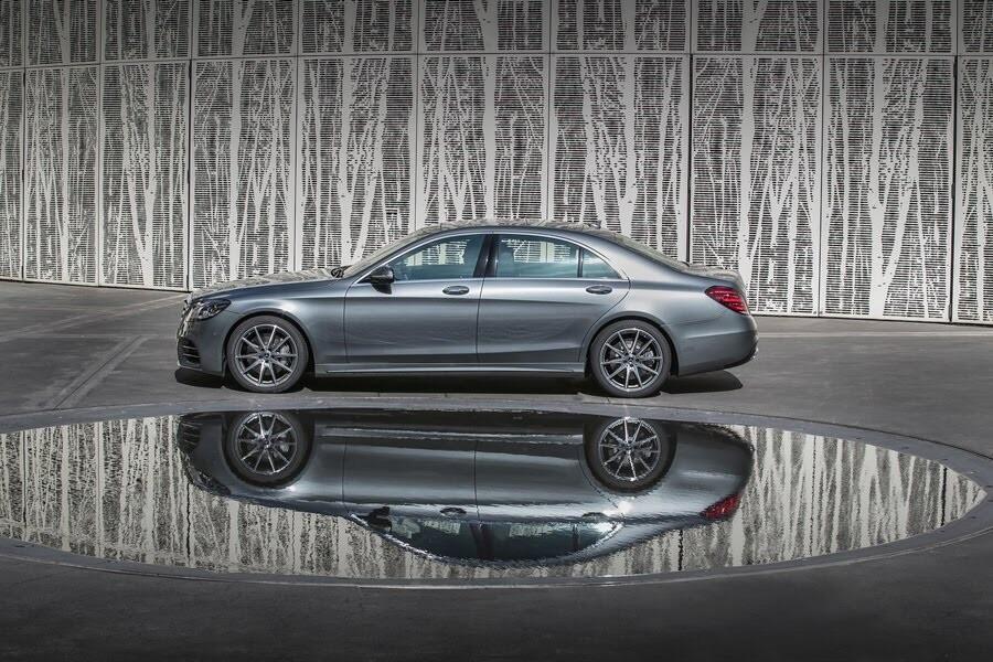 Vẻ đẹp Mercedes S-Class 2018 - Hình 3