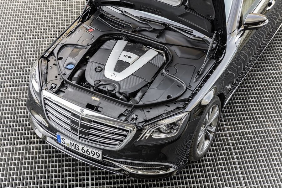 Vẻ đẹp Mercedes S-Class 2018 - Hình 13