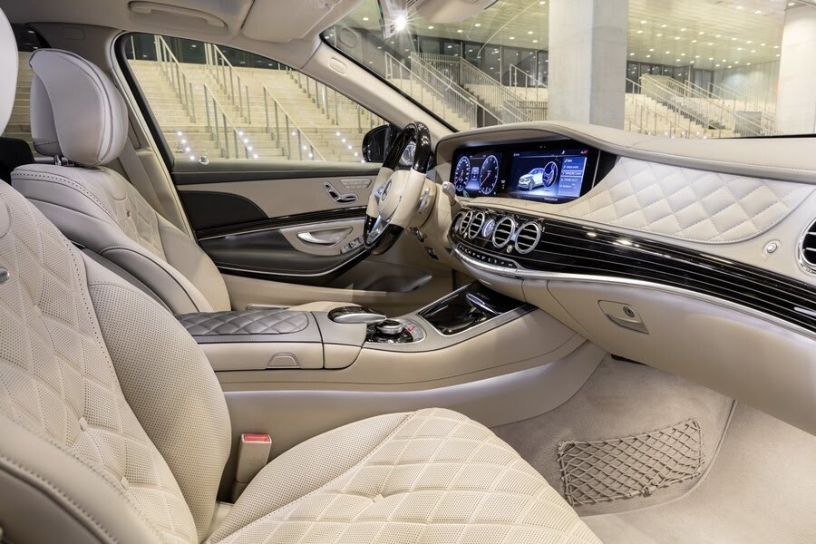 Vẻ đẹp Mercedes S-Class 2018 - Hình 14