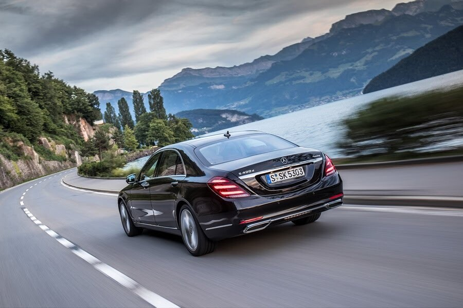 Vẻ đẹp Mercedes S-Class 2018 - Hình 17