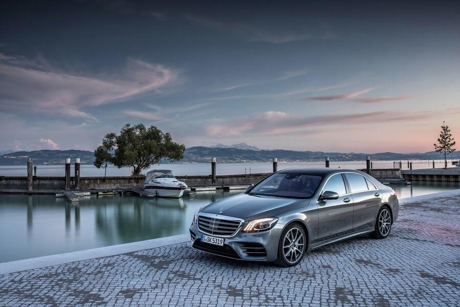 Vẻ đẹp Mercedes S-Class 2018 - Hình 22