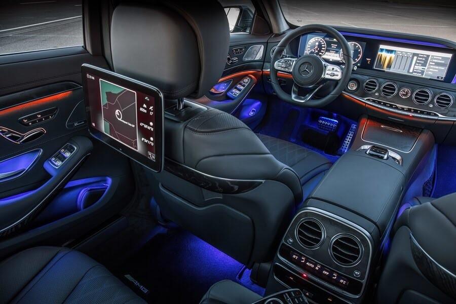 Vẻ đẹp Mercedes S-Class 2018 - Hình 25