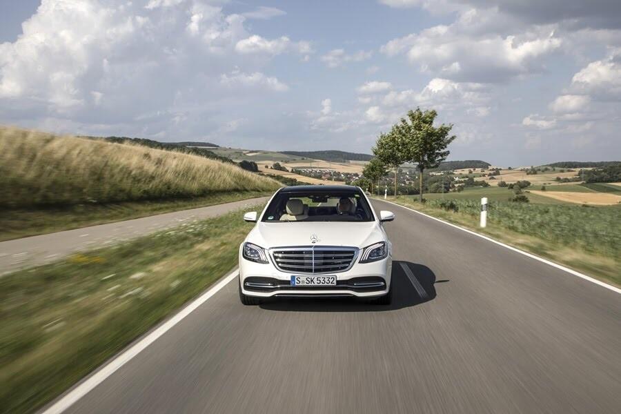 Vẻ đẹp Mercedes S-Class 2018 - Hình 26