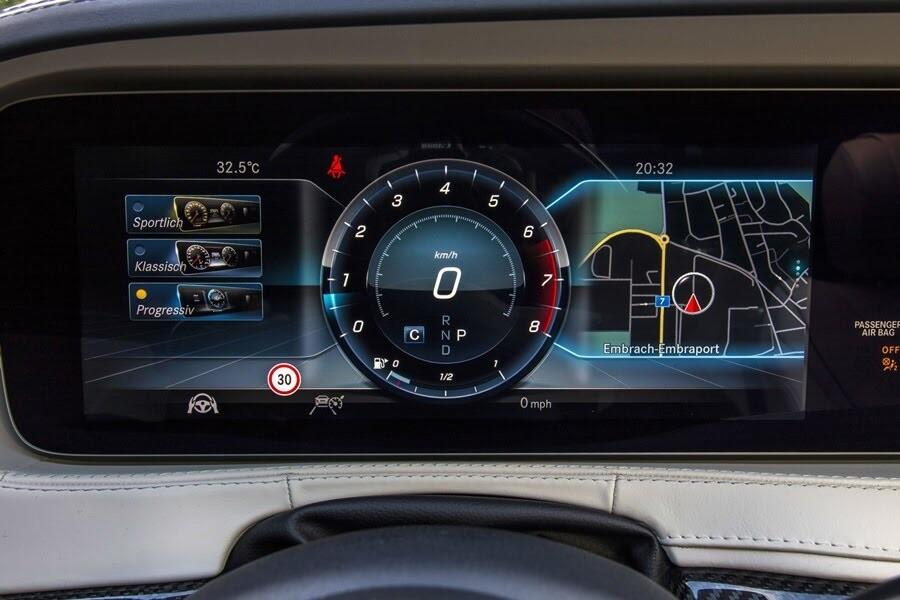 Vẻ đẹp Mercedes S-Class 2018 - Hình 34