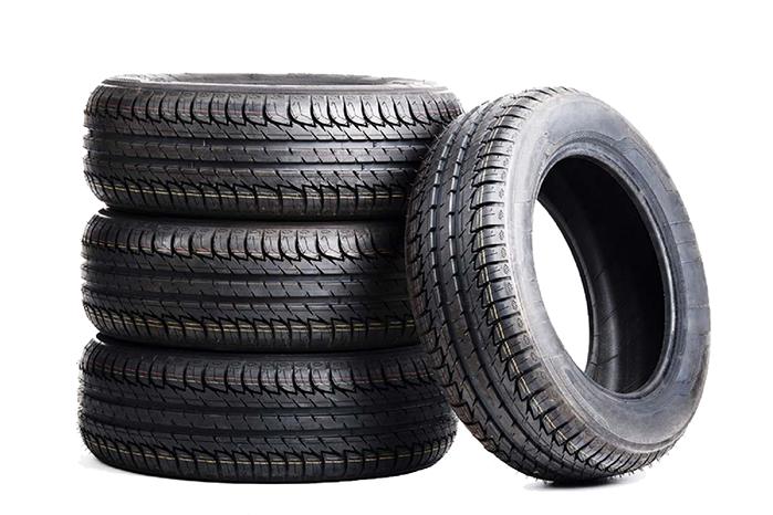 Sau khi sử dụng một thời gian dài lốp xe thường ngả sang màu xám