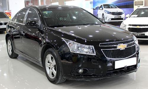 Chevrolet Cruze sản xuất năm 2012 trong diện triệu hồi. Ảnh: Anycar