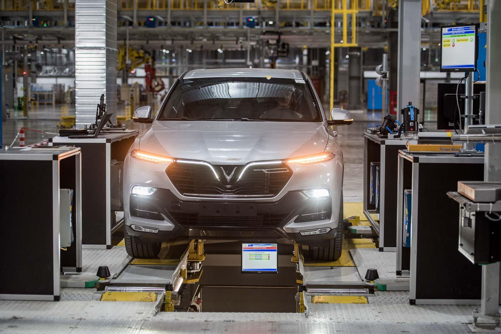 VinFast và hành trình 21 tháng xây dựng nhà máy ô tô Việt Nam đầu tiên - Hình 1