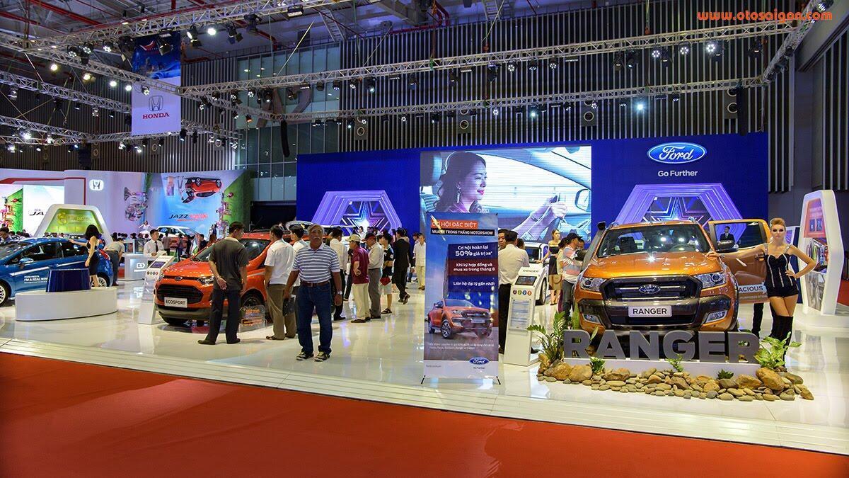 [VMS 2017] 150.000 khách tham quan triển lãm Vietnam Motor Show - Hình 12