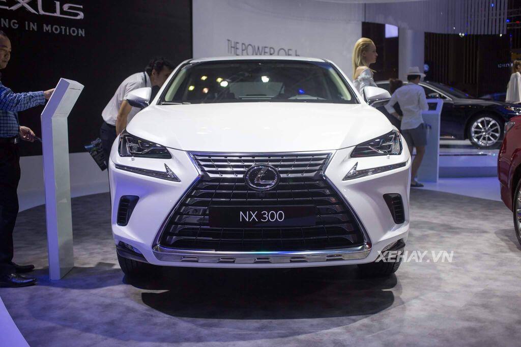 [VMS 2017] Chiêm ngưỡng vẻ đẹp khỏe khoắn, hiện đại của Lexus NX300 2018 - Hình 1