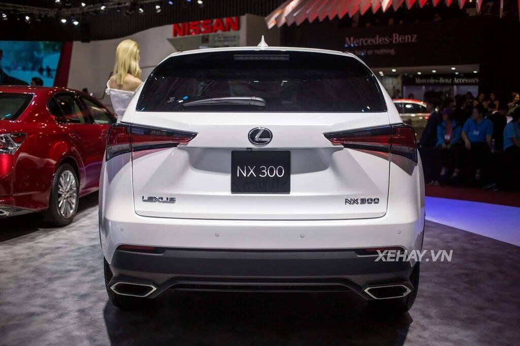 [VMS 2017] Chiêm ngưỡng vẻ đẹp khỏe khoắn, hiện đại của Lexus NX300 2018 - Hình 3
