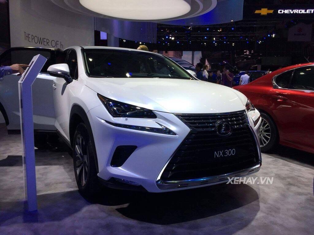 [VMS 2017] Chiêm ngưỡng vẻ đẹp khỏe khoắn, hiện đại của Lexus NX300 2018 - Hình 5
