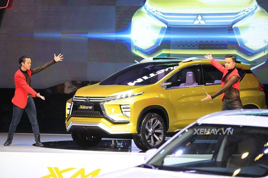 [VMS 2017] Điểm mặt các mẫu xe của Mitsubishi tại Triển lãm Ô tô Việt Nam 2017 - Hình 1
