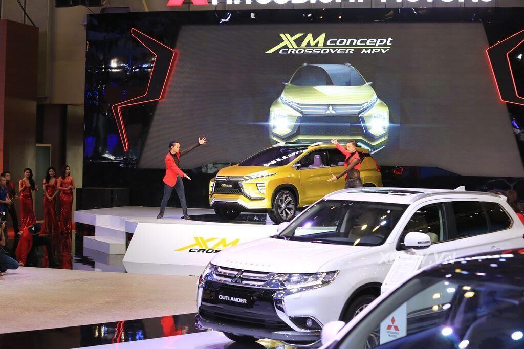 [VMS 2017] Điểm mặt các mẫu xe của Mitsubishi tại Triển lãm Ô tô Việt Nam 2017 - Hình 2