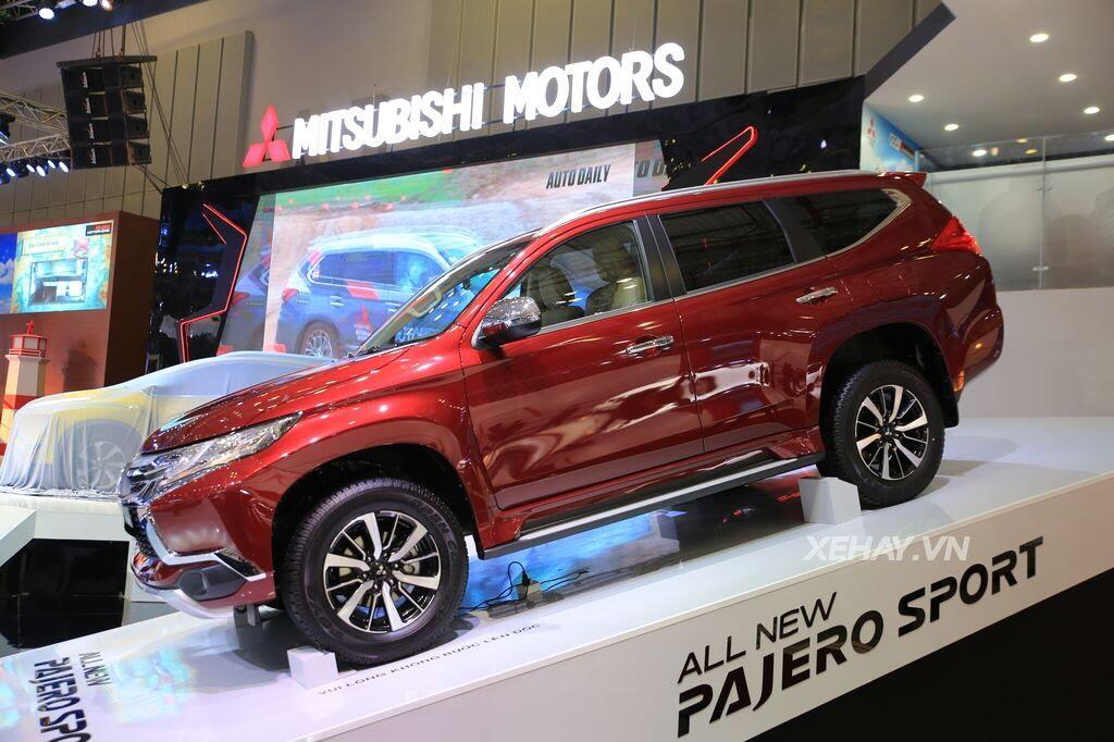 [VMS 2017] Điểm mặt các mẫu xe của Mitsubishi tại Triển lãm Ô tô Việt Nam 2017 - Hình 3