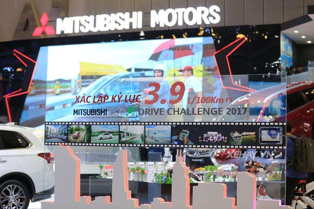 [VMS 2017] Điểm mặt các mẫu xe của Mitsubishi tại Triển lãm Ô tô Việt Nam 2017 - Hình 5