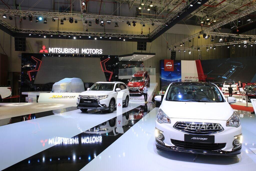 [VMS 2017] Điểm mặt các mẫu xe của Mitsubishi tại Triển lãm Ô tô Việt Nam 2017 - Hình 6