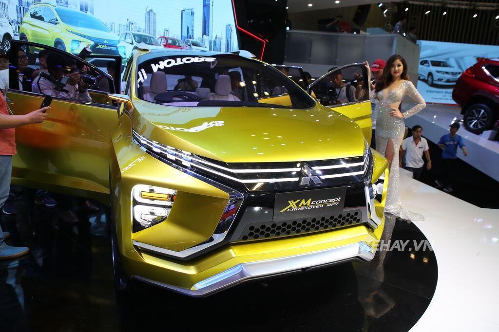 [VMS 2017] Điểm mặt các mẫu xe của Mitsubishi tại Triển lãm Ô tô Việt Nam 2017 - Hình 7