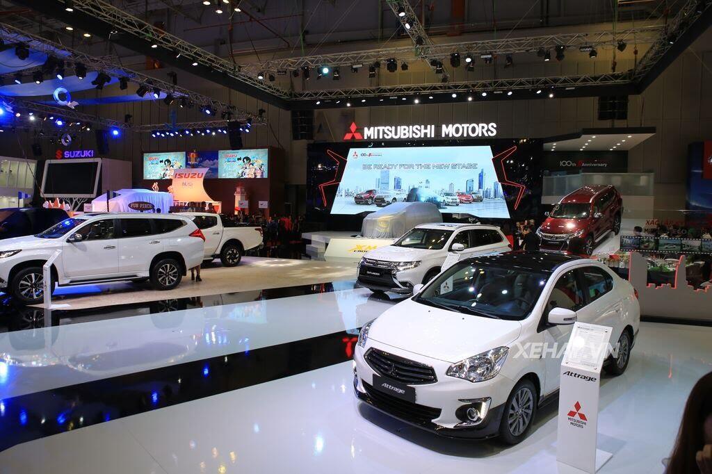 [VMS 2017] Điểm mặt các mẫu xe của Mitsubishi tại Triển lãm Ô tô Việt Nam 2017 - Hình 9