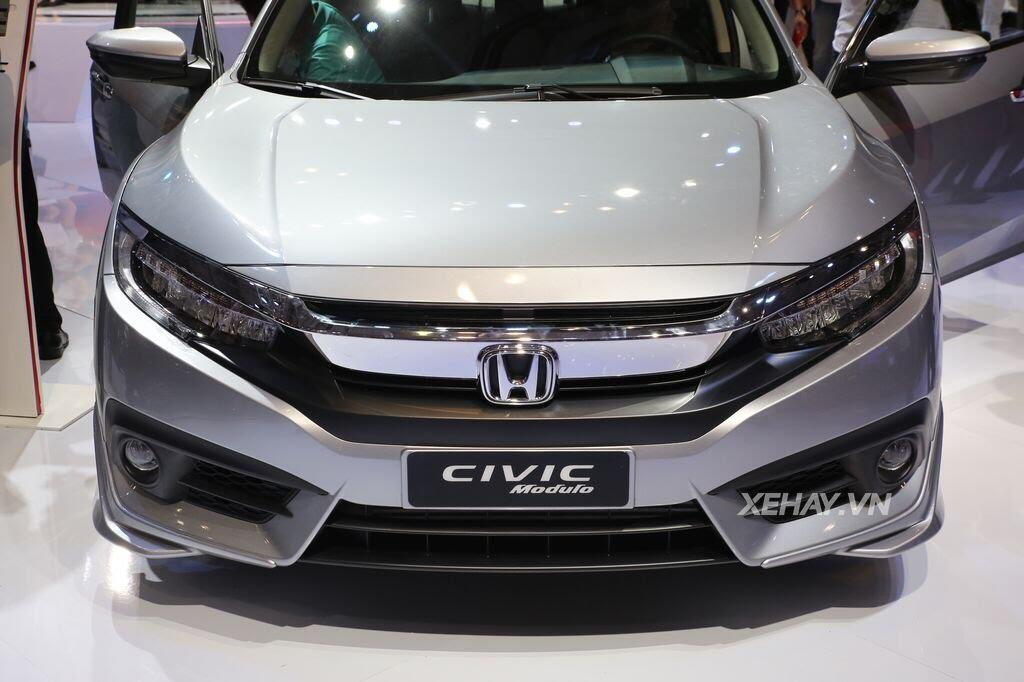 [VMS 2017] Honda Civic Turbo nổi bật nhờ gói độ chính hãng Modulo - Hình 1