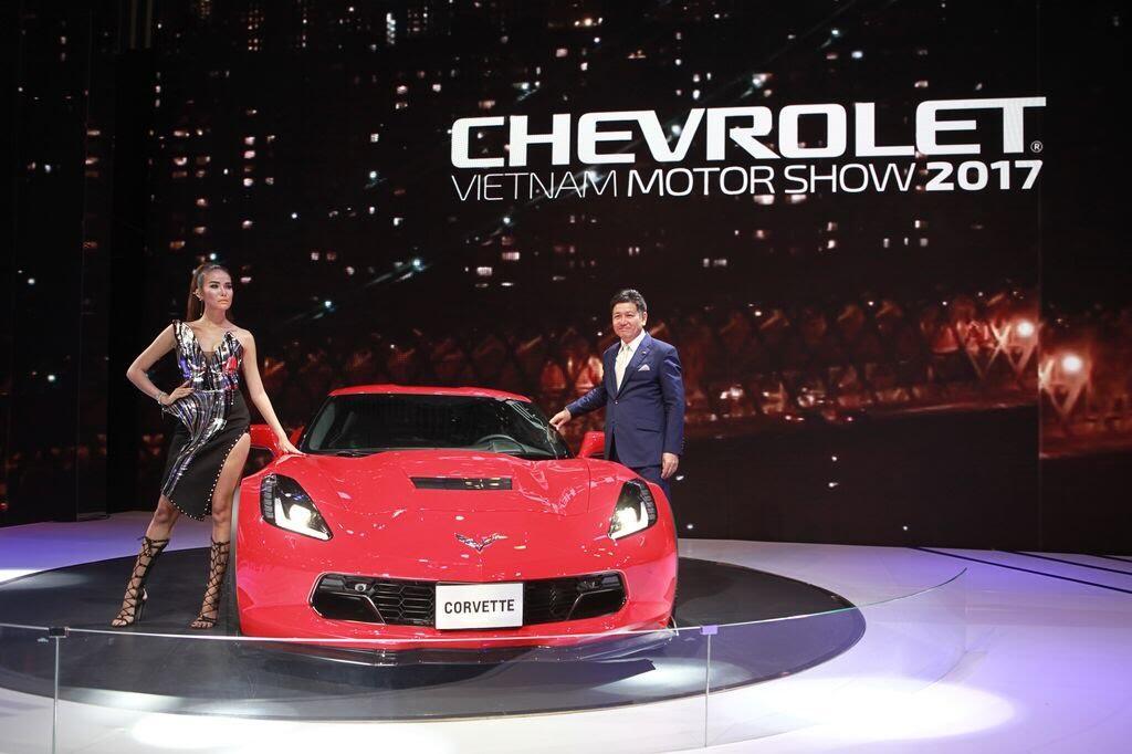 [VMS 2017] Khám phá gian hàng Chevrolet tại Triển lãm Ô tô Việt Nam lần thứ 13 - Hình 8