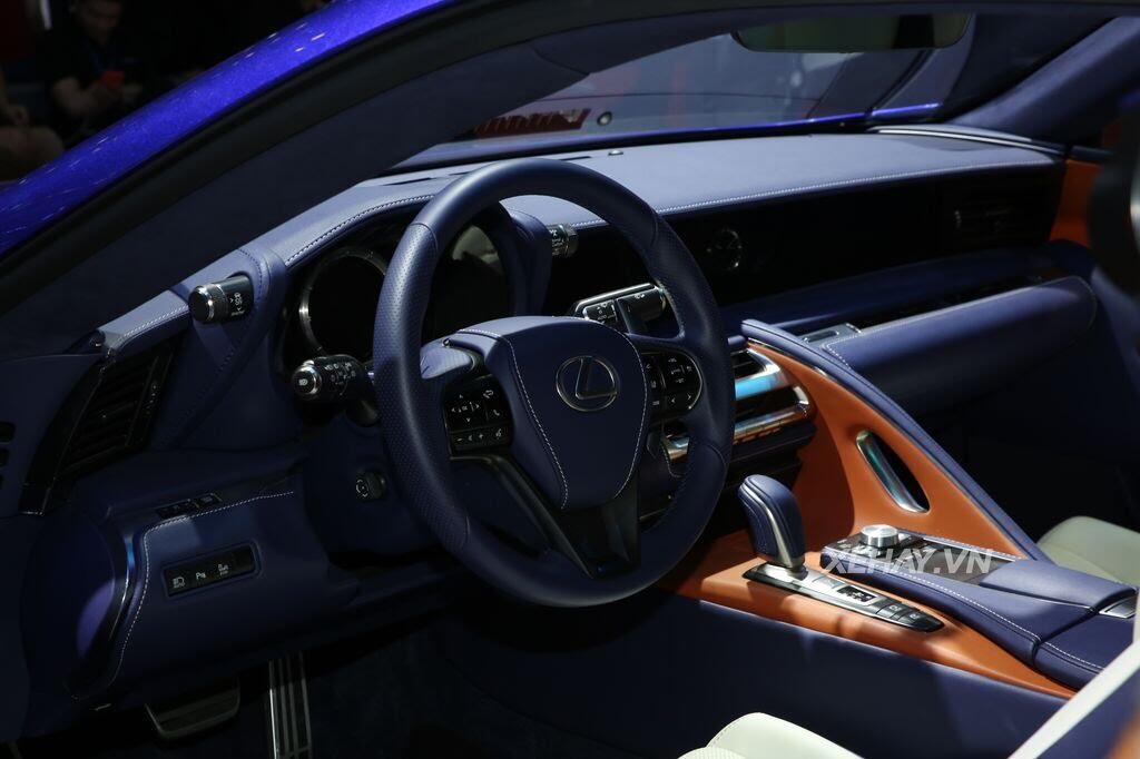 [VMS 2017] Lexus LC 500h 2017 hai cửa - Hình 9