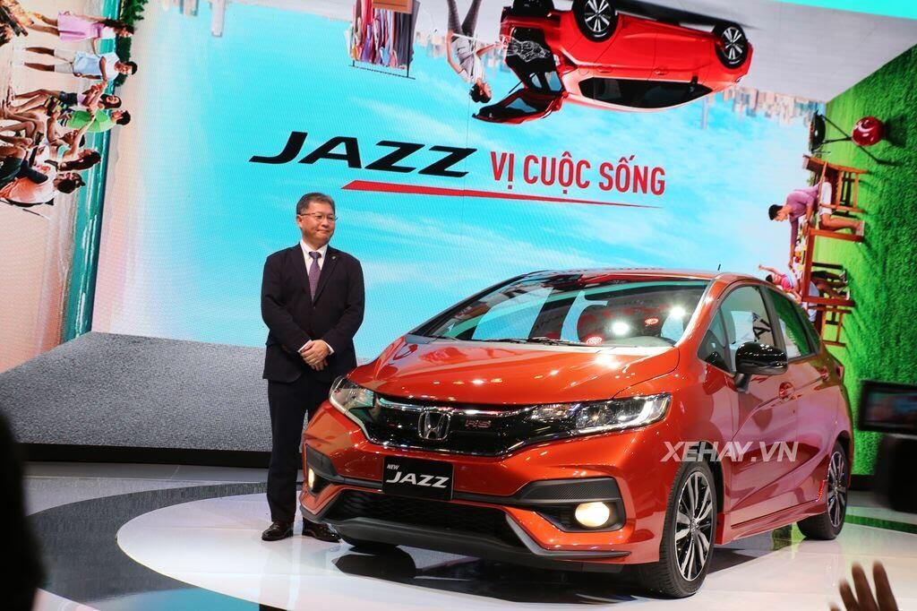 [VMS 2017] Mẫu xe cỡ nhỏ Jazz – quân - Hình 1
