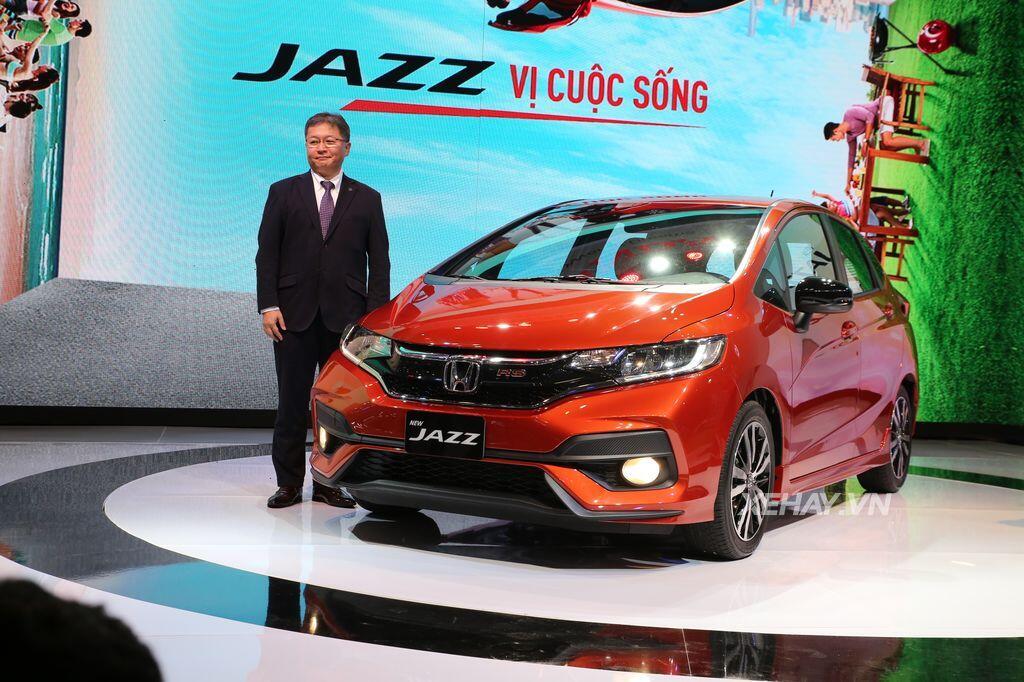 [VMS 2017] Mẫu xe cỡ nhỏ Jazz – quân - Hình 8