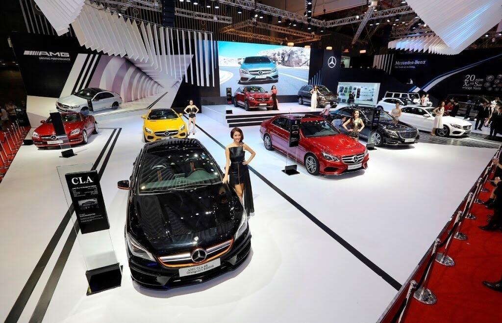 [VMS 2017] Mercedes sẽ trang bị hộp số 9G-TRONIC cho toàn bộ C-Class mới - Hình 2
