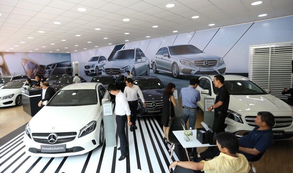 [VMS 2017] Mercedes sẽ trang bị hộp số 9G-TRONIC cho toàn bộ C-Class mới - Hình 4