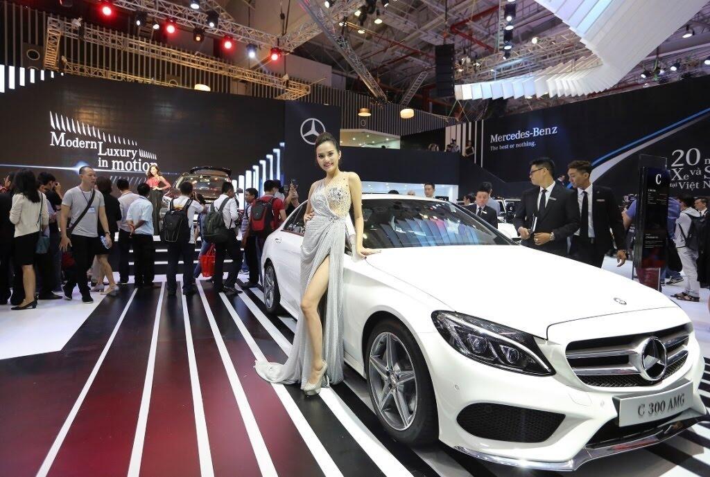 [VMS 2017] Mercedes sẽ trang bị hộp số 9G-TRONIC cho toàn bộ C-Class mới - Hình 5