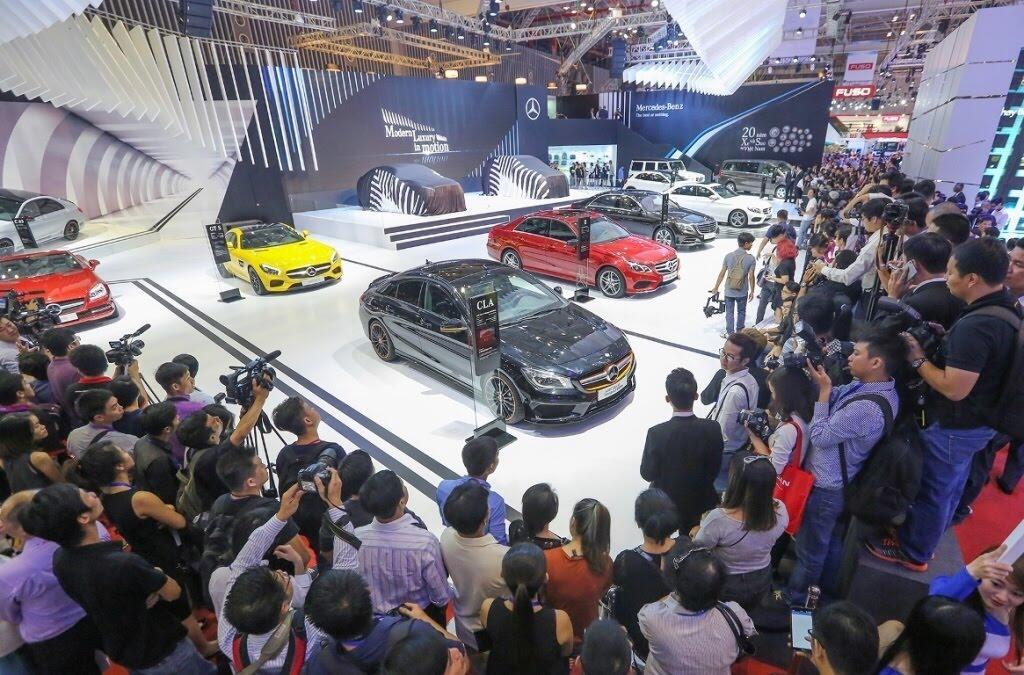 [VMS 2017] Mercedes sẽ trang bị hộp số 9G-TRONIC cho toàn bộ C-Class mới - Hình 10