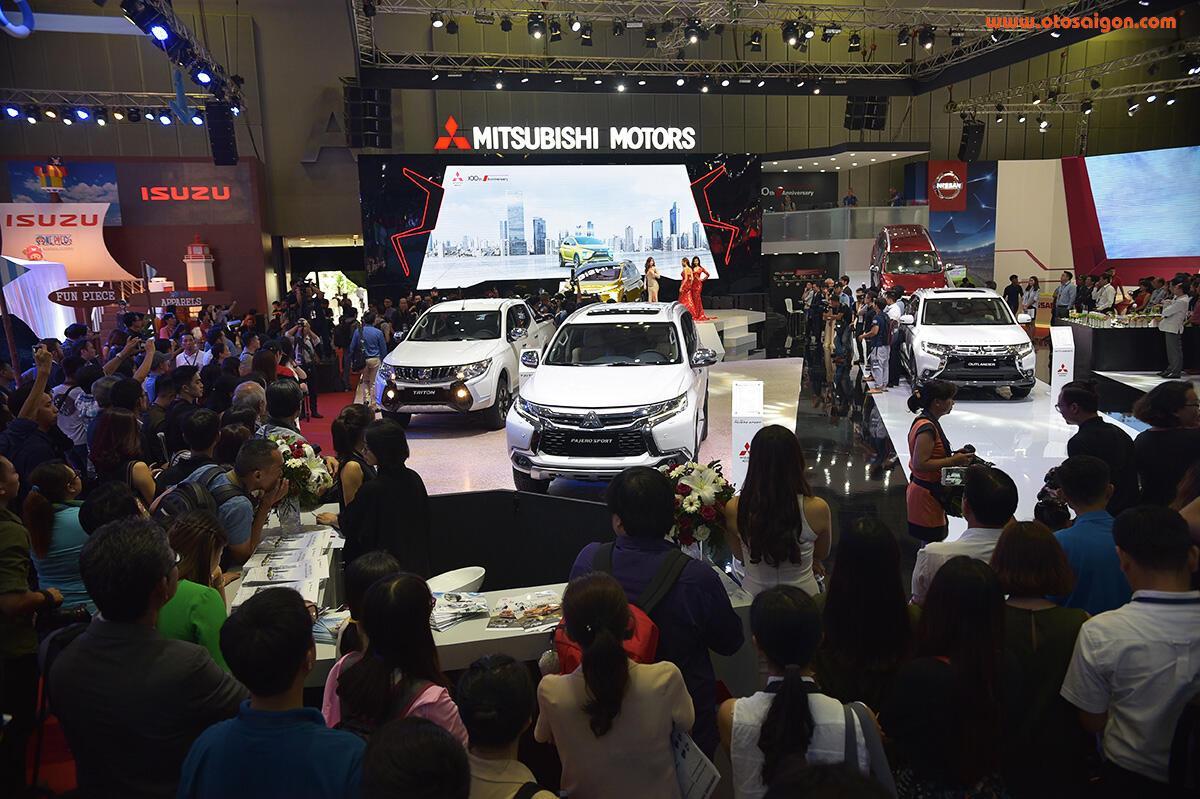 [VMS 2017] Mitsubishi trình làng XM Concept - xe SUV lai MPV - Hình 5