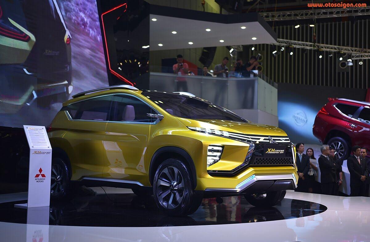 [VMS 2017] Mitsubishi trình làng XM Concept - xe SUV lai MPV - Hình 6