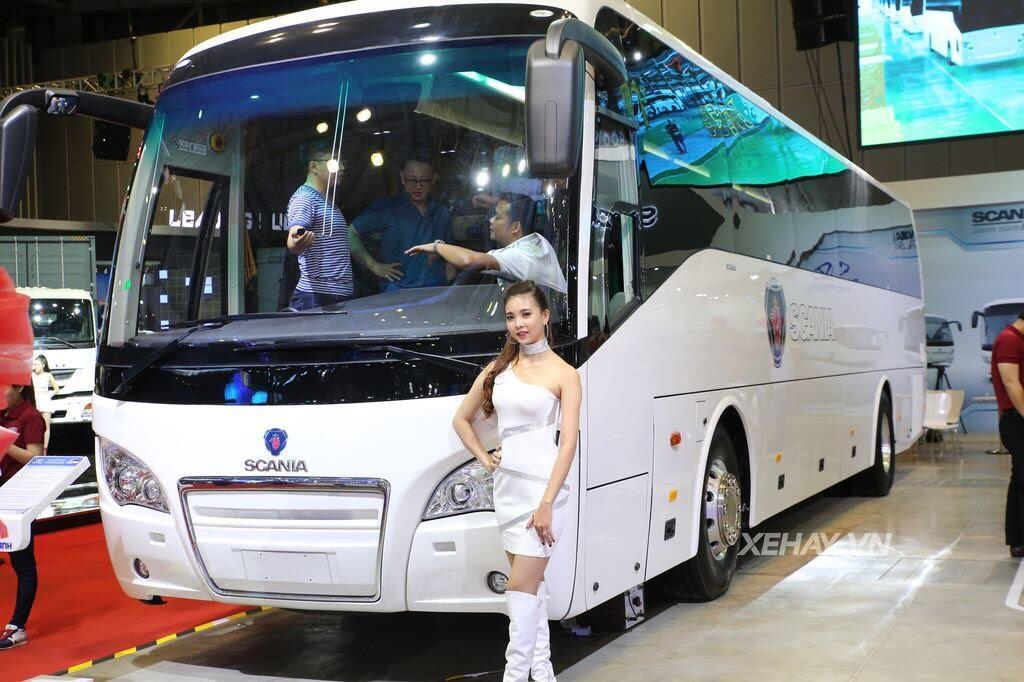 [VMS 2017] Soi chi tiết xe khách hạng sang Scania A50 của Đô Thành Auto - Hình 1