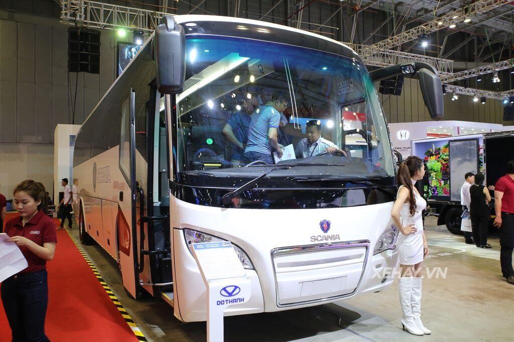 [VMS 2017] Soi chi tiết xe khách hạng sang Scania A50 của Đô Thành Auto - Hình 2