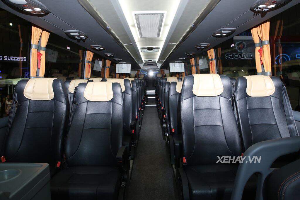 [VMS 2017] Soi chi tiết xe khách hạng sang Scania A50 của Đô Thành Auto - Hình 17