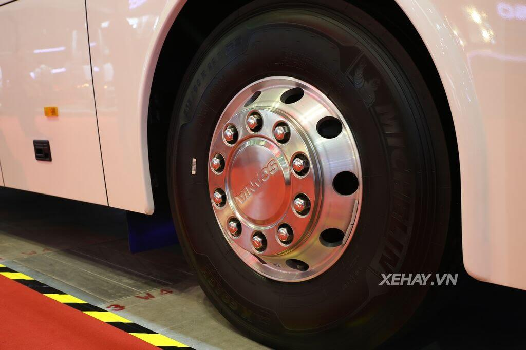 [VMS 2017] Soi chi tiết xe khách hạng sang Scania A50 của Đô Thành Auto - Hình 19