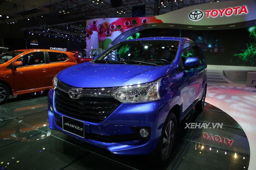 [VMS 2017] Toyota Avanza 2017 - mẫu MPV cỡ nhỏ giá mềm cho khách hàng Việt - Hình 1