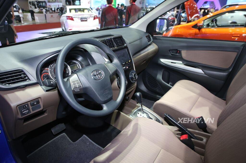 [VMS 2017] Toyota Avanza 2017 - mẫu MPV cỡ nhỏ giá mềm cho khách hàng Việt - Hình 6