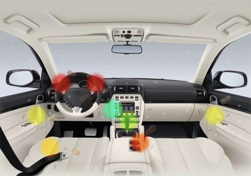 Những vị trí có nhiều vi khuẩn nhất trong xe hơi. Ảnh: Carrentals.com.