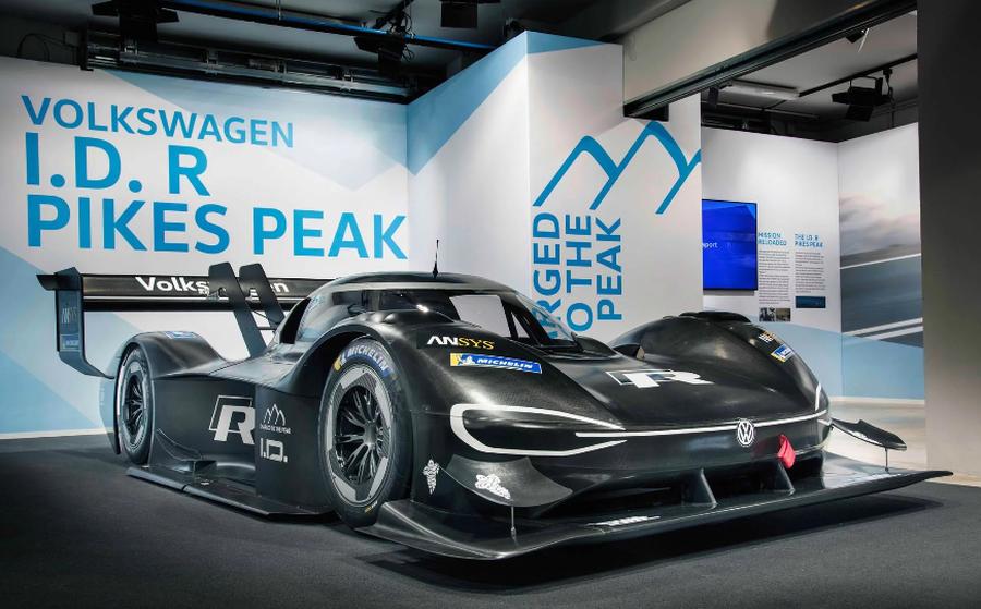 Volkswagen bật mí về xe đua ID R Pikes Peak - Hình 2