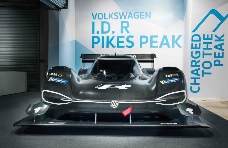 Volkswagen bật mí về xe đua ID R Pikes Peak - Hình 5