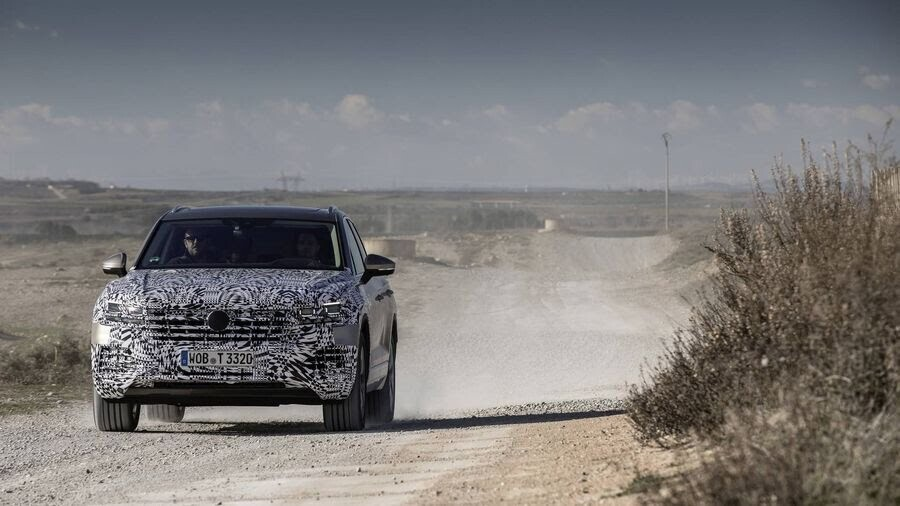 Volkswagen công bố hình ảnh nội thất của Touareg 2019 - Hình 6