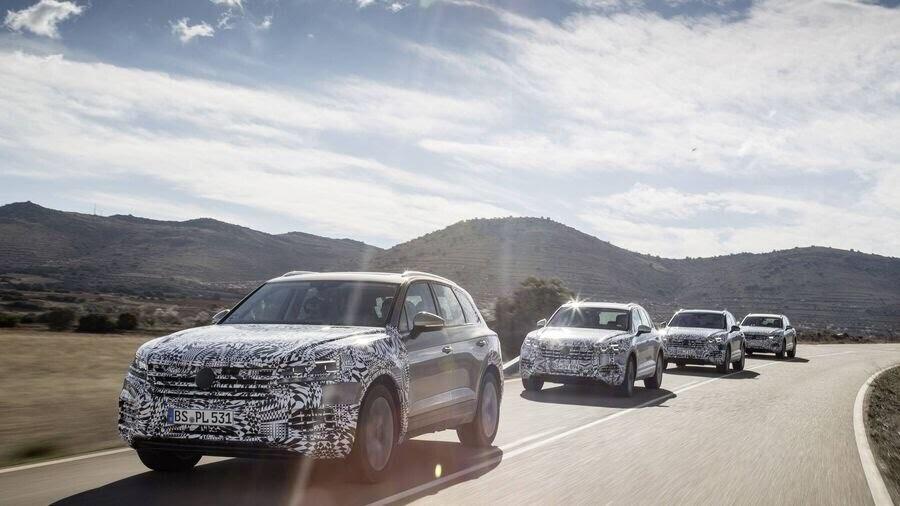 Volkswagen công bố hình ảnh nội thất của Touareg 2019 - Hình 8