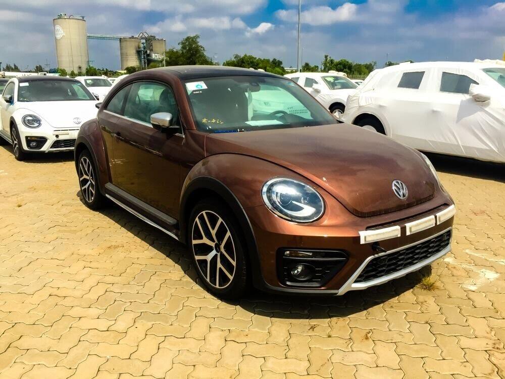 Volkswagen Cross Polo đỏ hồng tươi và Beetle Dune Socola - Hình 6